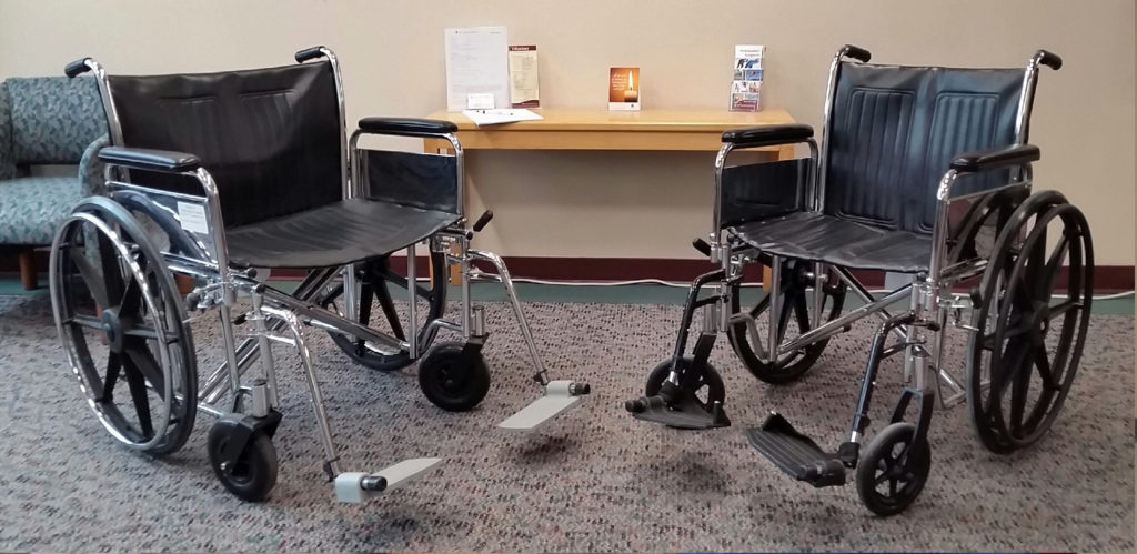 Wheelchairs for visitors
